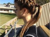 Braided Hairstyles for Sports 22 Gorgeous Braided Hairstyles for Girls Hairstyles Weekly