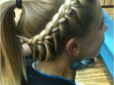 Braided Hairstyles for Sports softball Hair Braided Hairstyle & Ponytail for Sports