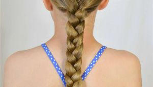 Braided Hairstyles for Swimming 10 No Fuss Hairstyles for Summer or the Pool Babes In
