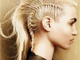 Braided Hairstyles In A Mohawk Braided Mohawk Hairstyles