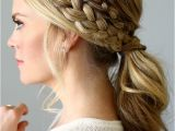 Braided Hairstyles In A Ponytail Double Braided Ponytail