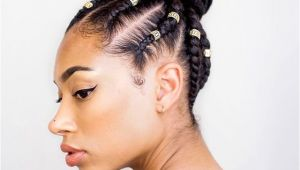 Braiding Hairstyles with Natural Hair 3 Natural Hair Braid Styles