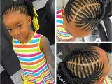 Braids to the Scalp Hairstyles Kids Braided Ponytail Naturalista Pinterest