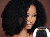 Brazilian Kinky Curly Hairstyles 1 Bundles Brazilian Kinky Curly Human Hair Extensions