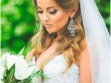 Bridal Hairstyles Half Up Half Down with Veil and Tiara 185 Best Veils Images