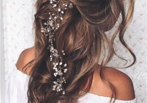 Bridal Hairstyles Loose Curls 23 Exquisite Hair Adornments for the Bride Weddings