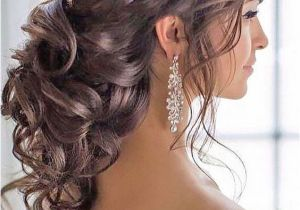 Bridal Hairstyles Loose Curls New Wedding Hairstyles Curly Hair Up