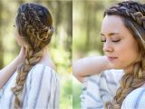 Bridal Wedding Hairstyles Youtube Double Dutch Side Braid Diy Back to School Hairstyle