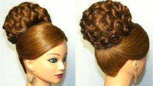 Bridal Wedding Hairstyles Youtube Elegant Wedding Updo for Long Hair Wedding Ts