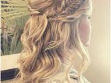 Bride Hairstyles Half Up with Braid 172 Best Bridal Hair Braids Images