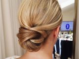 Bridesmaid Hairstyles Buns Get Inspired by This Fabulous Simple Low Bun Wedding Hairstyle