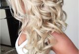 Bridesmaid Hairstyles Down Curly 42 Half Up Half Down Wedding Hairstyles Ideas Wedding