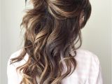 Bridesmaid Hairstyles Down Curly Half Up Half Down Wedding Hairstyles – 50 Stylish Ideas for Brides