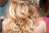 Bridesmaid Hairstyles Down Medium Length 15 Fabulous Half Up Half Down Wedding Hairstyles