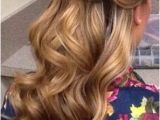 Bridesmaid Hairstyles Down Pinterest 20 Half Up Half Down Wedding Hairstyles Anyone Would Love