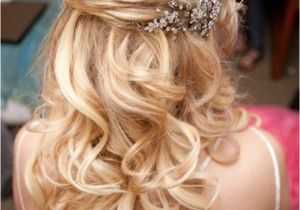 Bridesmaid Hairstyles Long Hair Down 15 Fabulous Half Up Half Down Wedding Hairstyles