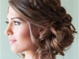 Bridesmaid Hairstyles Side Curls Double Braids Hair Pinterest