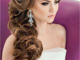 Bridesmaid Hairstyles Side Curls Elegant Bridal Hairstyles for Long Hair 119