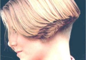 Buzzed Bob Haircut Women Clippered Nape Wedge Hairstyles