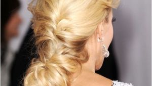 Carrie Underwood Braided Hairstyles Cute & Easy Celebrity Updos 2015