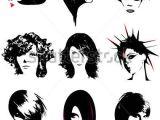 Cartoon Hairstyles Vector Punk Hair Free Vector Free Vector for Free About 1 Free