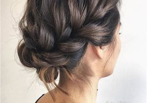 Casual Hair Up Hairstyles 24 Gorgeous Messy Wedding Updos Hairgoals Pinterest