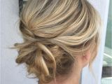 Casual Hair Up Hairstyles 60 Tren St Updos for Medium Length Hair In 2018