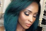 Cheap Hairstyles for Black Women Short Bob Ombre Green Wig Black Women Hairstyles Cheap