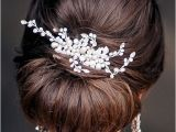 Chignon Hairstyles for Weddings Low Bun Wedding Hairstyles Wedding Chignon