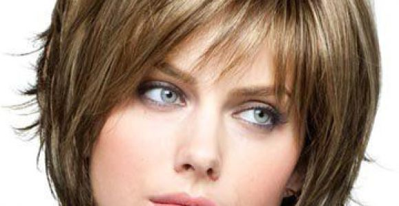 Chin Length Choppy Hairstyles Razor Cut Bob Hairstyles with Bangs