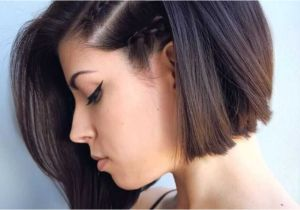 Chin Length Dark Hairstyles Graduated Bob with Bangs Lovely Luxury Chin Length Inverted Bob