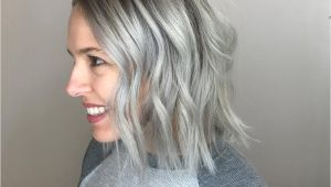 Chin Length Hairstyles for Gray Hair Fall Hair Color and Cut Trends Keune Medium Length Cut Inspiration