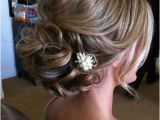 Chin Length Updo Hairstyles Updos for Medium Length Hair with Flower Wedding Hair