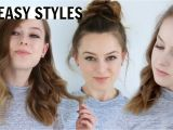 Cool Easy Hairstyles for Shoulder Length Hair 3 Easy Hairstyles for Medium Length Hair