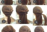 Cool Easy Hairstyles Step by Step Easy Hairstyles for Short Hair to Do at Home Best Short