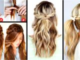 Cool Easy Hairstyles to Do On Yourself 30 Cute and Easy Braid Tutorials that are Perfect for Any