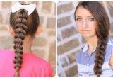 Cool Easy Hairstyles Youtube How to Create A Pull Through Braid