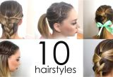 Cool Easy Hairstyles Youtube Quick and Cool Hairstyles