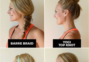 Cool Gym Hairstyles Best Fit Girl Hairstyles Hair & Beauty