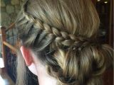 Cool Hairstyles for A School Dance Braided Bun for A School Dance