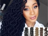 Crochet Hairstyles Cost 24 Strands Pcs Faux Locs Curly Crochet Braids soft Locks Hair 20