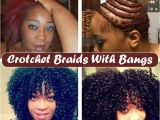 Crochet Hairstyles for No Edges Crotchet Braids with A Bang Including Braid Pattern