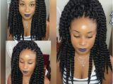 "Crochet Hairstyles with Cuban Twist Hair Image Name"" Ghana Weaving"