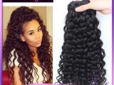 Crochet Hairstyles with Human Hair 10 Inch Brazilian Virgin Remy Hair Bundles Curly Crochet Braids