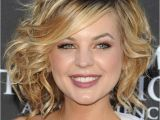 Curling A Bob Haircut Curly Bob Hairstyle with Bangs Women Hairstyles