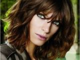 Curly Bob Haircuts with Bangs 20 Different Long Bob with Bangs