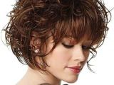 Curly Bob Haircuts with Bangs 35 Cute Hairstyles for Short Curly Hair Girls