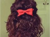 Curly Bow Hairstyle Curly Short Haircuts