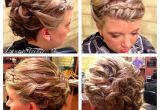 Curly Bun Prom Hairstyles Curly Bun Hairstyles Elegant Wedding Updo with Headband Style Braid