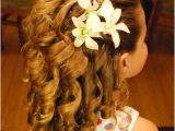Curly Flower Girl Hairstyles Flower Girl Hairstyles